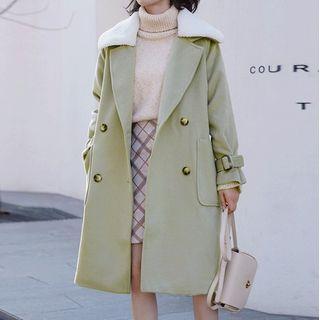 Miahynn - Double-Breasted Coat