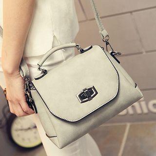 Clair Fashion - Buckled Shoulder Bag