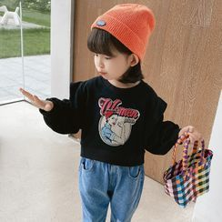 Ohori - Kids Graphic Print Sweatshirt