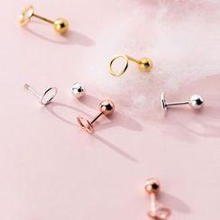 A'ROCH - 925 純銀圈環耳釘