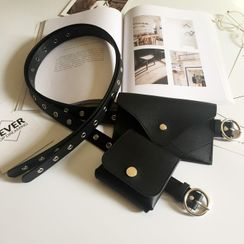 Follow Me - Studded Belt Bag
