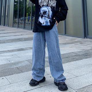 Giuliana(ギーリアナ) - Wide-Leg Jeans