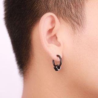 Prushia - Cube Hoop Earrings