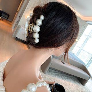 Pop Lop - Faux Pearl Hair Clamp