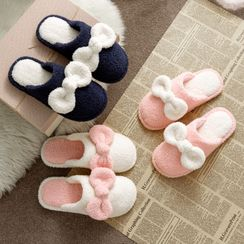 EMERY.V - Couple Matching Fleece Home Slippers