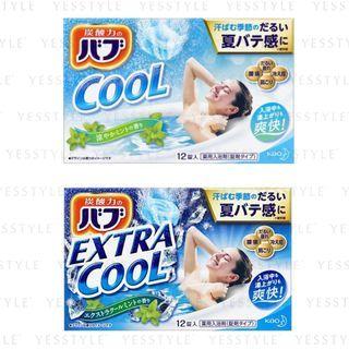 Kao - Bub Cool Mint Scent Bath Tablet 12 pcs - 2 Types