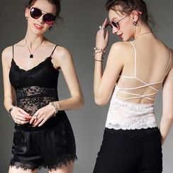 camikiss - Lace Camisole Top
