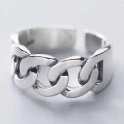 A'ROCH(エーロック) - 925 Sterling Silver Chain Open Ring