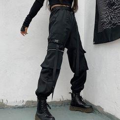 PLANNA - Cargo Jogger Pants