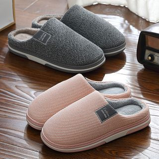 Ishanti - Fleece-Lined Home Slippers