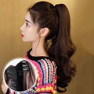 Pin Show - Curly Long Half Wig / Set