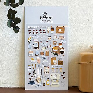 Milena - Coffee Sticker