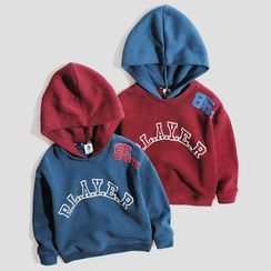 Happy Go Lucky - Kids Lettering Hoodie