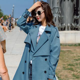 OTTI - Double Breasted Trench Coat