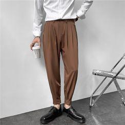 VEAZ - Plain Tapered Dress Pants
