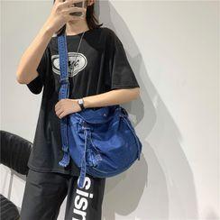 Libra - Denim Crossbody Bag
