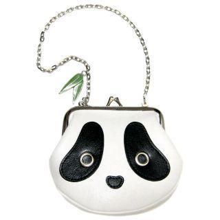 Morn Creations - Panda Coin Purse with Chain