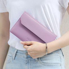 BABOSARANG(バボサラン) - Colored Self-Fastener Flap Pouch