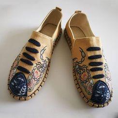 Sparrow Farm - 刺绣帆布轻便鞋