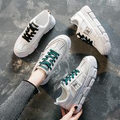 KORISE - Platform Lace-Up Sneakers