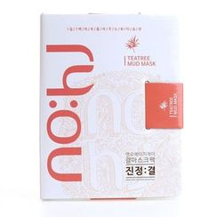no:hj - Claming Texture Mask Pack Set Tea Tree 10pcs