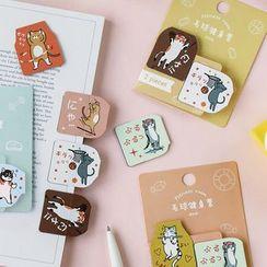 Ms Zaa - Cartoon Magnetic Bookmark
