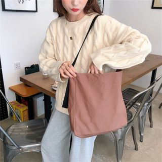 Milha - Plain Canvas Tote Bag