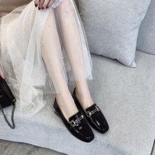 锦洋鞋业 - 漆皮乐福鞋