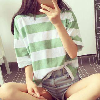 Fashion Street - 条纹短袖T恤