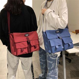Gokk(ゴック) - Lettering Lightweight Messenger Bag