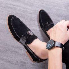 MARTUCCI - 粗跟乐福鞋