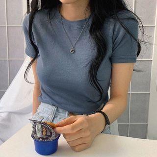 Dute - Plain T-Shirt
