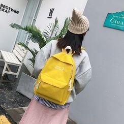 Auree - Letter Canvas Backpack