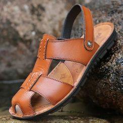 Taragan - Faux Leather Sandals