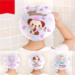 Homy Bazaar(ホーミーバザール) - Cartoon Print Shower Cap