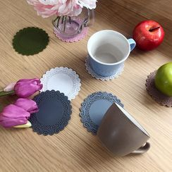 iswas - Perforated Silicon Coaster in 11 colors