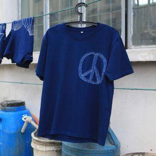 bleublack - Short-Sleeve Rhinestone T-Shirt