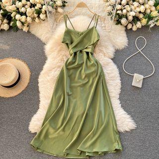 Knutsford - Strappy Midi A-Line Dress