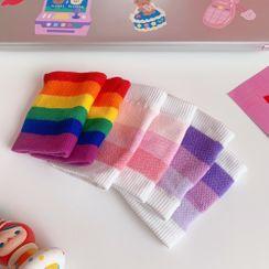 Pouffle - 彩虹印花运动手带