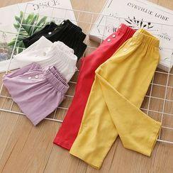 貝殼童裝 - 小童束腰褲