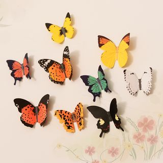 SunShine - Adhesive 3D Butterfly Wall Ornament