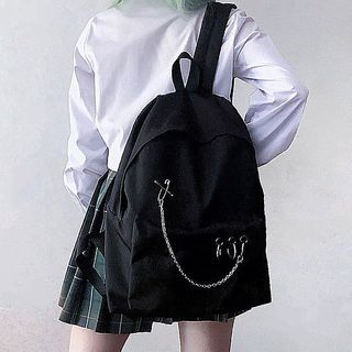 CHIN CHIN - Chained Zip Backpack
