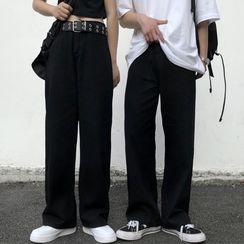 INStudio - 寬腿牛仔褲