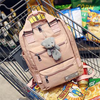 Hampa - Canvas Front Pocket Backpack