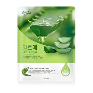 esfolio - Aloe Essence Mask Sheet Set 10pcs