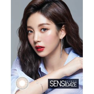 LENS TOWN - Sensidaze Monthly Color Lens #Gray