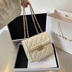 Daelynn - Quilted Flap Crossbody Bag