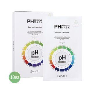 SAM'U - PH Sensitive Mask Soothing & Moisture Set