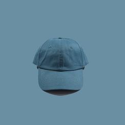 BACKNOW - Embroidered Chinese Characters Baseball Cap