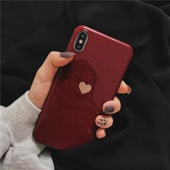 Just In Case - Heart Print Mobile Case - Huawei / Honor